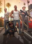 Grand Theft Auto V - The Standoff by PatrickBrown