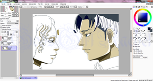 Levi and Me WIP by GodsGirlRachel