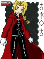 Edward Elric by Valkyrie1981