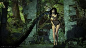 JUNGLE EVA and Lord NIDRA - Pic 3 by MonsieurPaul3D
