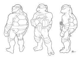 Mikey Character sheet by danimation2001