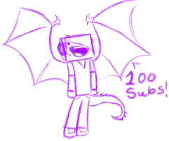 100 SUBS by 11IceDragon11