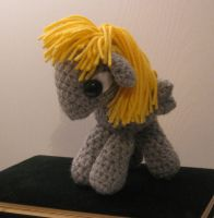My Little Pony - Baby Derpy Hooves - side view by kaerfel