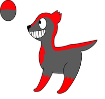 Smile dog for victoriasnowball by Dib-the-survivor