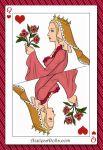 Jane Seymour - Queen of the Deck by TheArtisticProphet