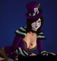 Commission Mad Moxxi by richten