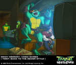 TMNT BTTS Memory-Mikey Games by E-Mann