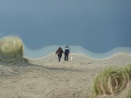 Walk over the Beach - Morphed by VGJekyll