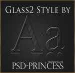 Photoshop Glass Style 2 by Psd-Princess