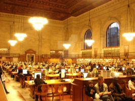 Study Hall NYPL by ArtieWallace