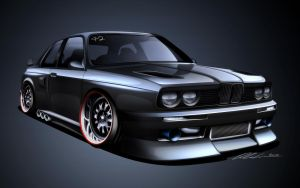 e30 M3 Race Car by dazza-mate