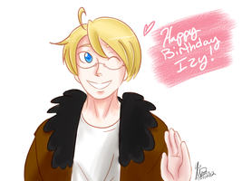 Happy Birthday Izy! by VespaAngelYukino