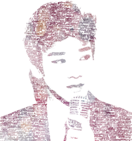 Typography: Kim Jongdae by mallowmuffin
