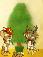 .:PC:.Lets design a christmas tree~ by KajaTheFurry