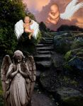 My Angels Watching Over Me by justmeandmycoffee