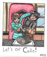 Let's eat CAKE! by TheCreator2009