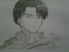Corporal Levi by ilovescaryklowns