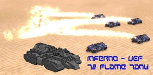 Inferno - UEF Flame Tank by MikeTehFox