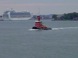 Tug Boat by ArtieWallace