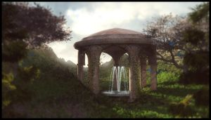 Gazebo Garden by Everild-Wolfden