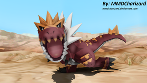 MMD Pokemon Newcomer - Tyrantrum +DL+ by MMDCharizard