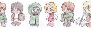 Chibi Ranger's Apprentice by knitty1121