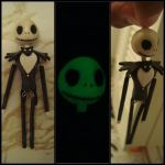 Jack Skellington - Nightmare before Chritmas Charm by knuxnbats