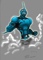 Guyver Coloured by Bigdowser