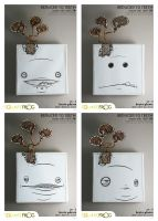 reduced to TEETH: set3 all 4 by SquareFrogDesigns