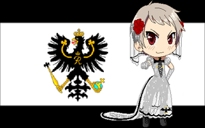 Bride Prussia by P-ChanAndP-Kun