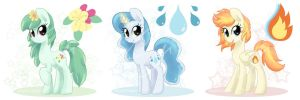 SOLD: Pokepony Type Adoptables by steffy-beff