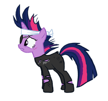 Future Twilight Sparkle Vector by Violent-Wolf
