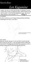 TUTORIAL- how to draw len kagamine (ENGLISH) by BLEEDFan95