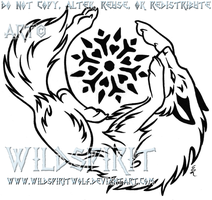 Snowflake Wolf Tattoo by WildSpiritWolf