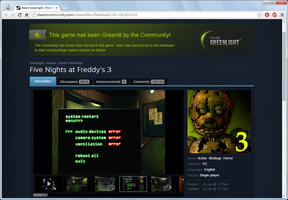 Looking FNaF3 on Steam... wait, how many comments? by SecretAgentJonathon