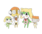 Curry and Green dango Family by pianno-ribbon