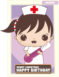 Nurse with Thermometer by rayzong