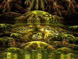 Alien Jungle by SARETTA1
