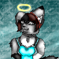 AT: Stitch Angel by GeenaRulzMyPaws