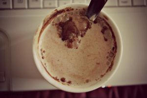 This morning in my cocoa by TaniaMPhotographie