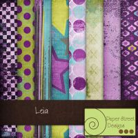 leia-paper street designs by paperstreetdesigns