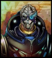 Mass Effect - Garrus Vakarian by lux-rocha