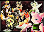 GO GO, POWER RANGERS by eeveelution-lover