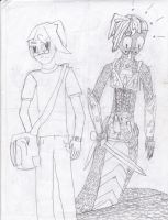 Echidna and Man by Masterweaver