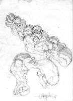RED HULK by WOLVERINE76