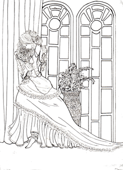Roses- lineart by Miata-4