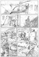 Sightseeing - Pencils by CrazyChucky