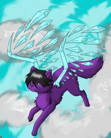 Flying High on Crystal Wings by ZorraFox