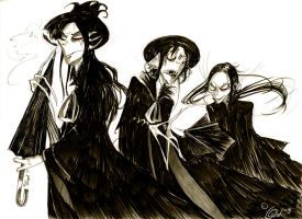 Annoying li'l Vultures by CountANDRA
