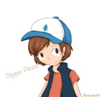 GA: Dipper Pines by abstractcat17